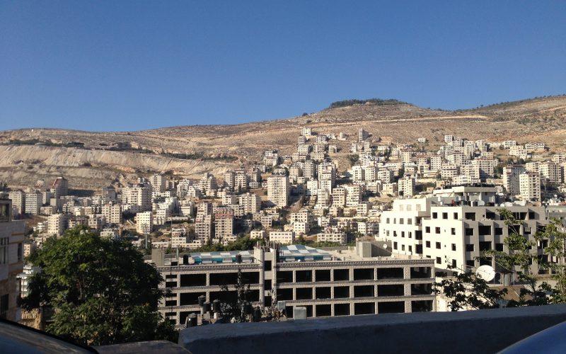 Nablus city. August 24, 2014. Photo: Masih Sadat