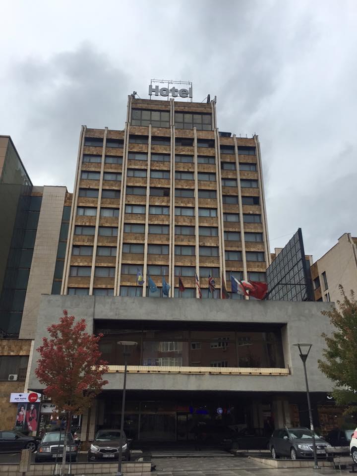 The Grand Hotel Pristina in Kosovo. October 28, 2015. Photo: Masih Sadat